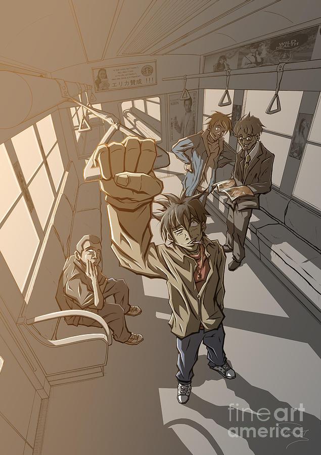 Tuan Drawing - Radical Dreamer 2 Tomodachi by Tuan HollaBack