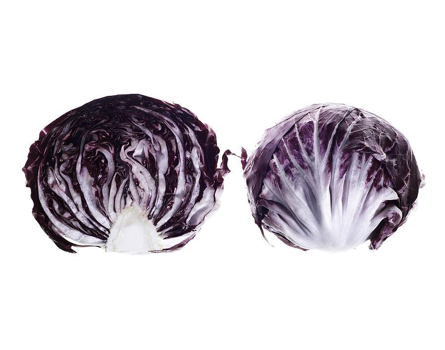 Fruit Photograph - Radicchio by Nathaniel Kolby