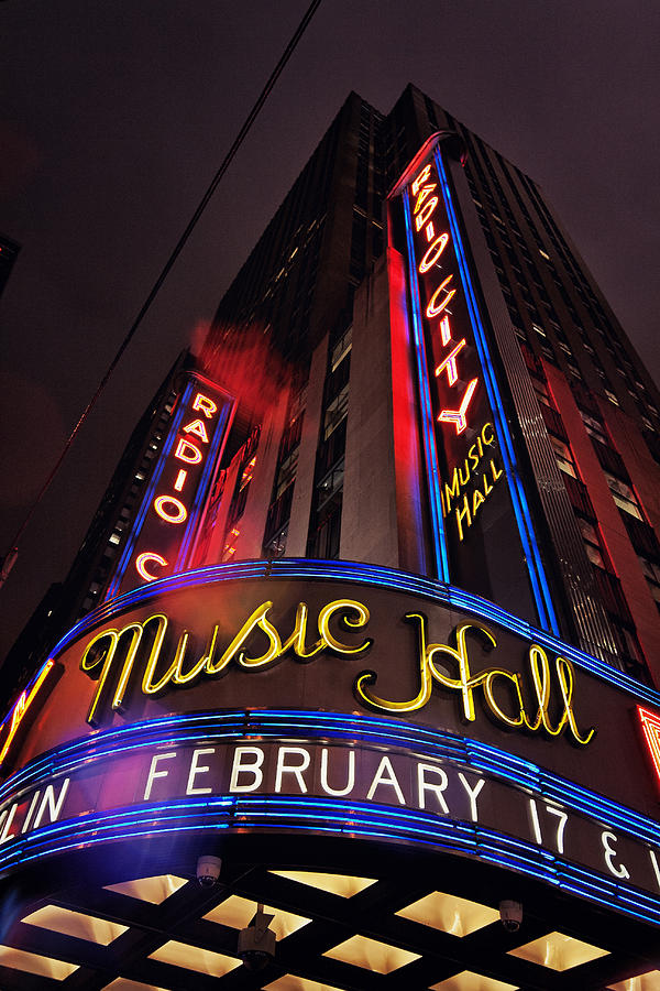 New York City Photograph - Radio City Music Hall by Benjamin Matthijs