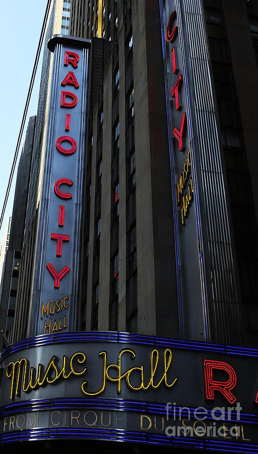 Broadway Photograph - Radio City Music Hall Cirque Du Soleil by Lee Dos Santos