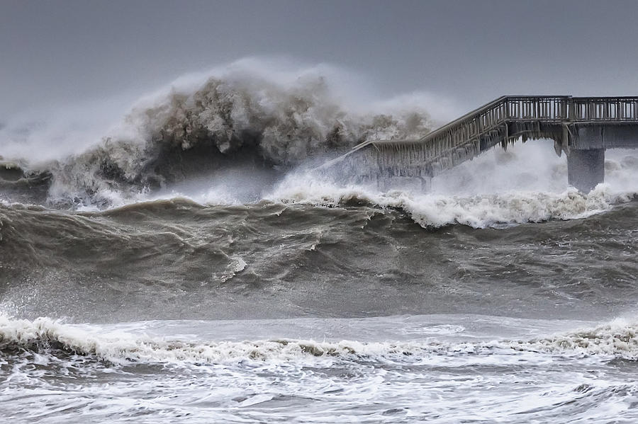 Bulgaria Photograph - Raging Black Sea by Evgeni Dinev