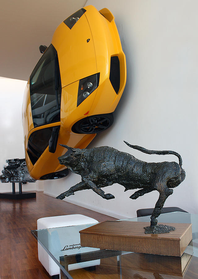 Automobile Photograph - Raging Bull by Graham Parry
