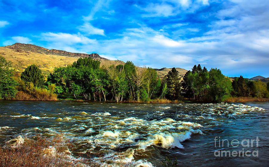 Idaho Photograph - Raging River by Robert Bales
