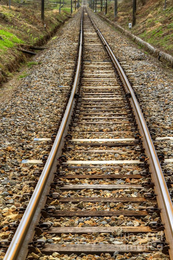 Rail Photograph - Rail Way by Tad Kanazaki