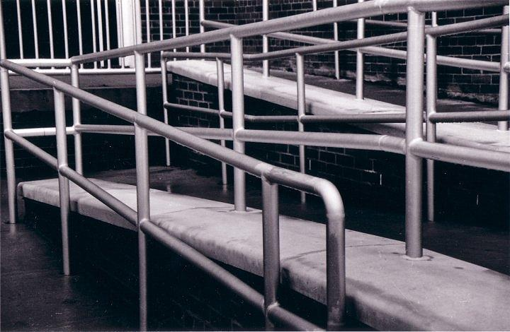 Black And White Photography Photograph - Railing by Cecelia Taylor-Hunt