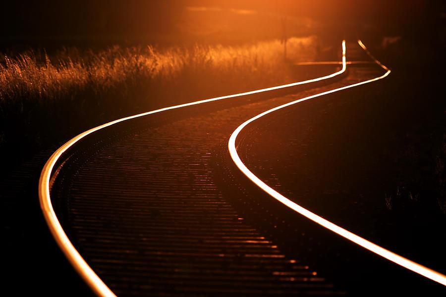 Abend Photograph - Railroads by Thomas Splietker