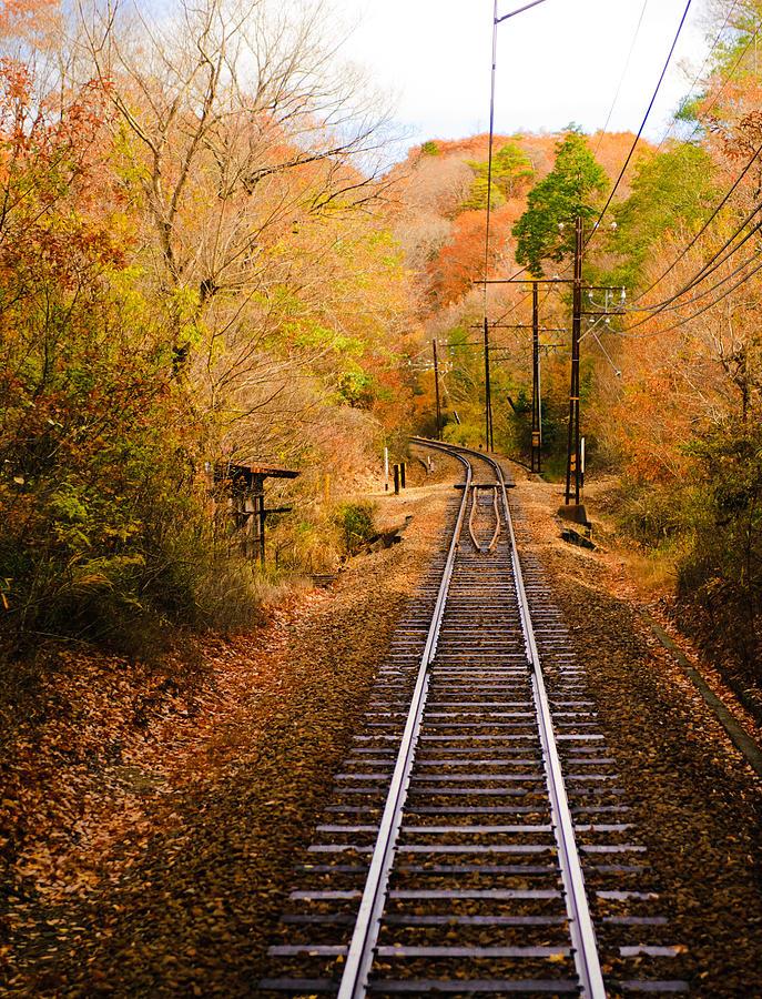 Vertical Photograph - Railway Track by (c) Eunkyung Katrien Park