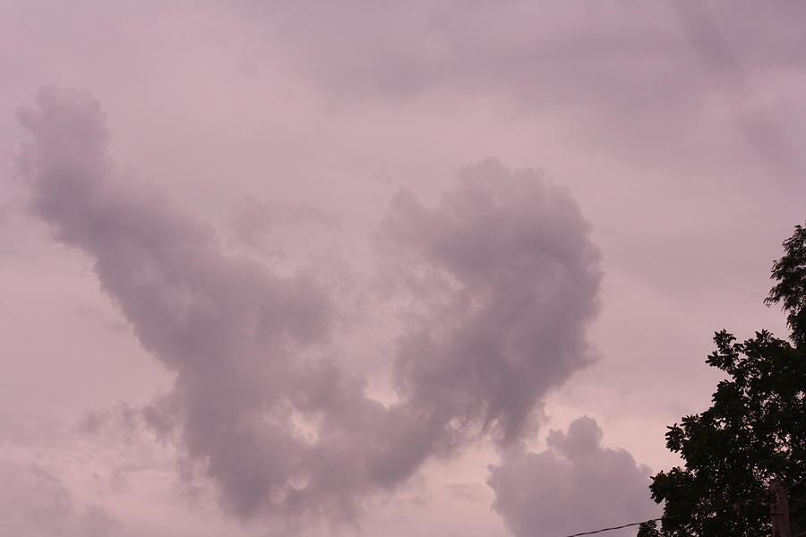 Rain Cloud Photograph by Carol Henry