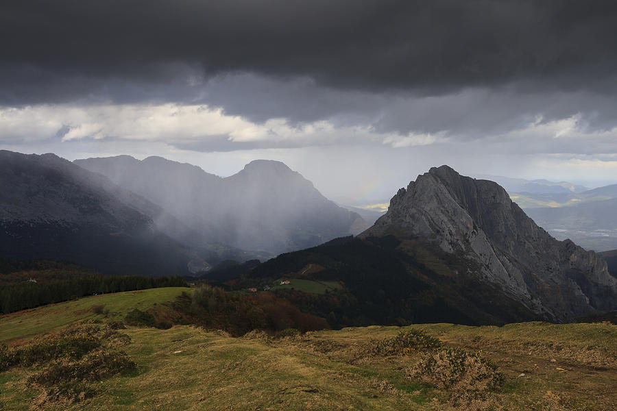 Image result for rain in the mountains
