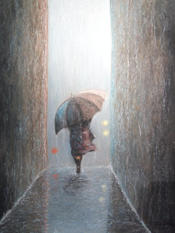 Urban Pastel - Rain by Terry Jackson
