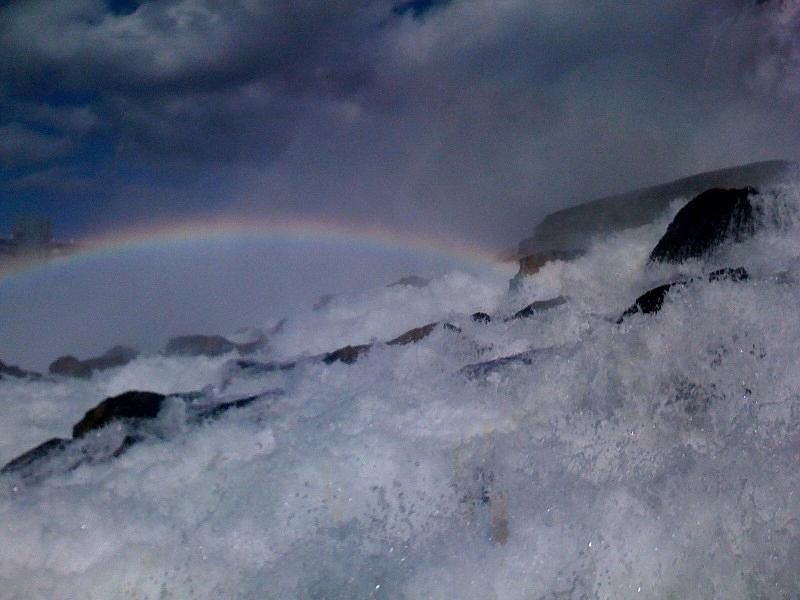 Rainbow Falls Photograph by Matthew Slowik