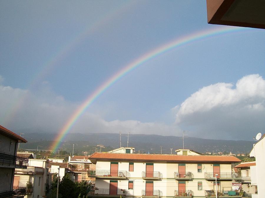 Rainbow Photograph - Rainbow by Floricel Marian cristian