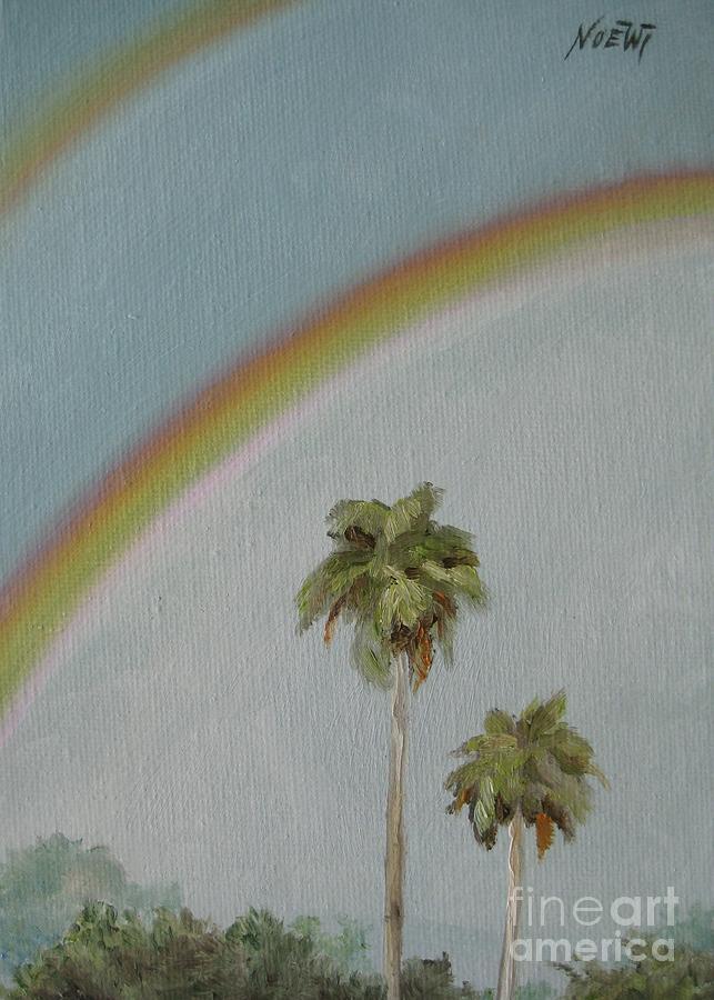 Noewi Painting - Rainbow by Jindra Noewi