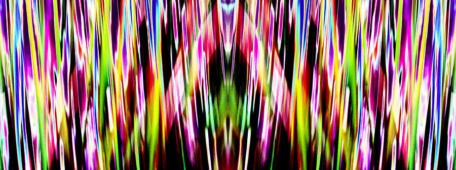 Abstract Photography Photograph - Rainbows by Danny Lally