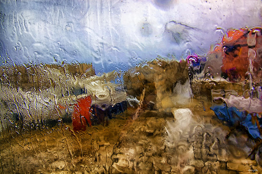 Rain Photograph - Rainy Day Abstract 3 by Madeline Ellis