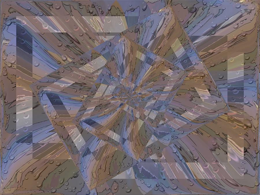 Rain Digital Art - Rainy Day Portal 3 by Tim Allen