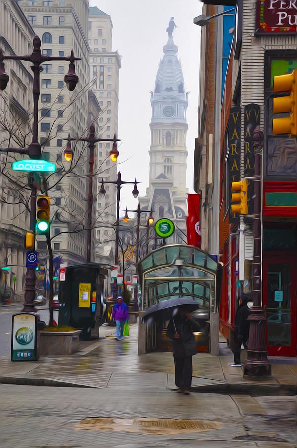 Philadelphia Photograph - Rainy Days And Sundays by Bill Cannon