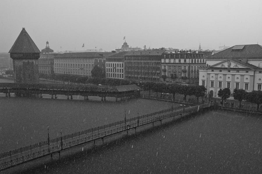 Lucern Photograph - Rainy Days In Lucern by Jim Neumann