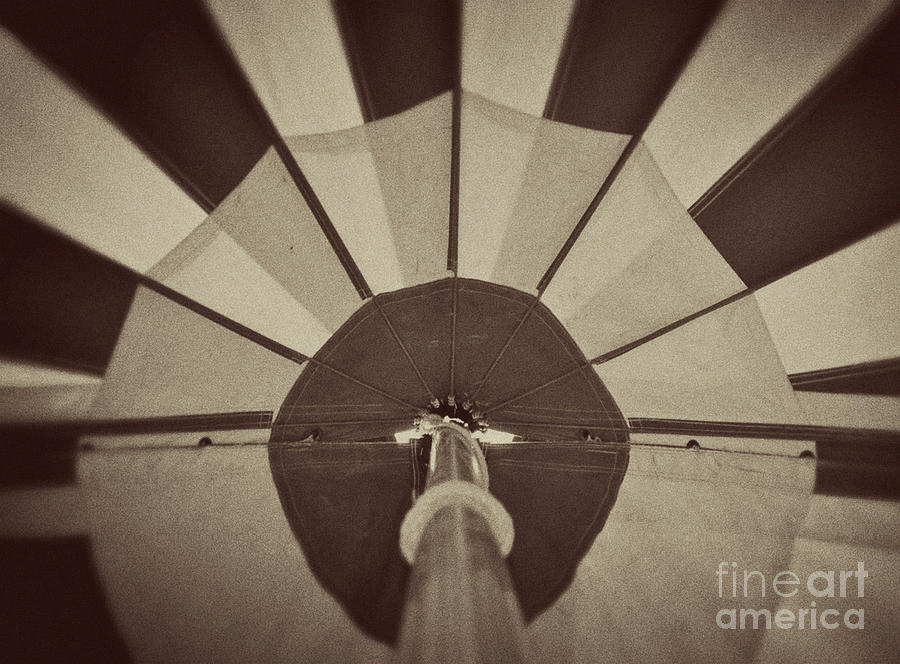 Sepia Photograph - Raise The Tent by Catherine Jarret