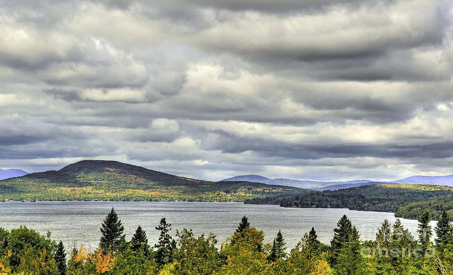 Maine Photograph - Rangley View by Brenda Giasson