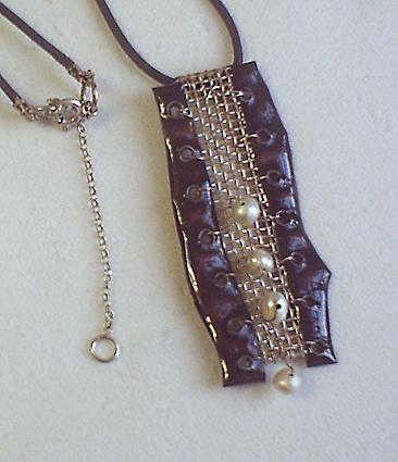 Enamel Jewelry - Rapunzel by Asya Ostrovsky