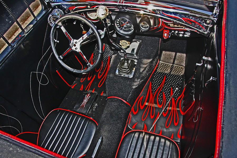 Rat Rod Interior Photograph By Chet King