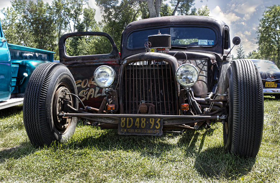 Rat Rod Photograph - Rat Rod by Peter Chilelli