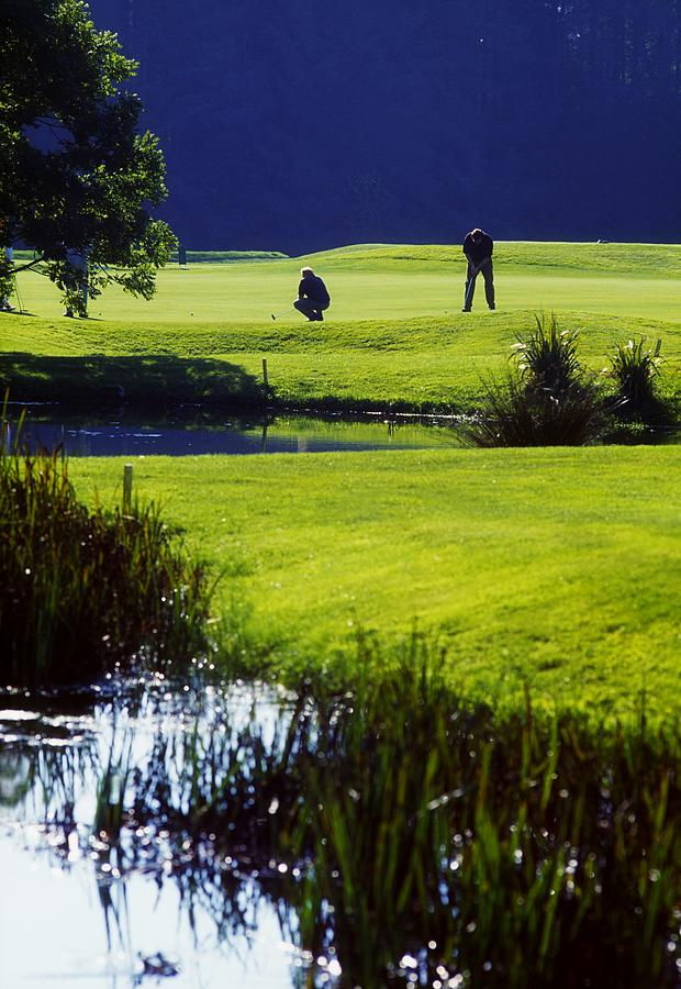 Bending Photograph - Rathsallagh Golf Club, Co Wicklow by The Irish Image Collection
