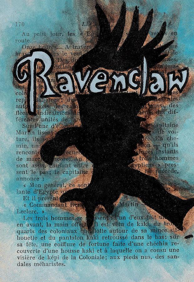 Eagle Painting - Ravenclaw Eagle by Jera Sky
