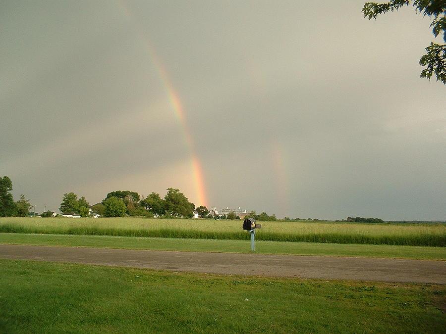 Rainbow Photograph - Ray Bow by Bonfire Photography