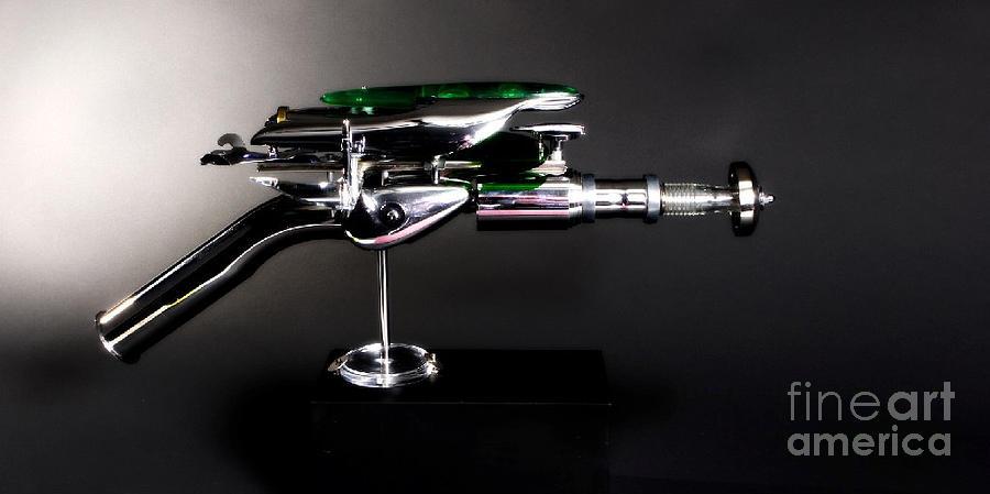 Sculpture - Ray Guns by Steve Lestat