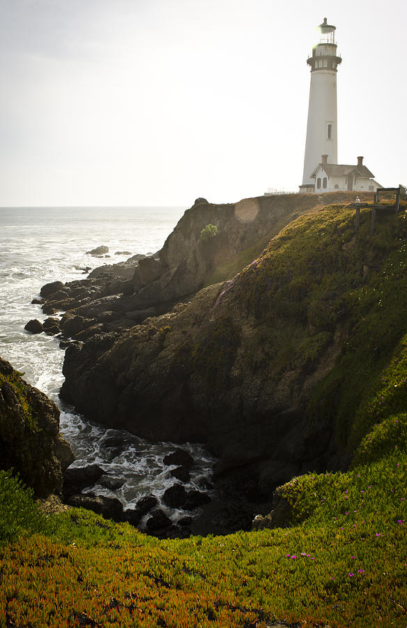 Lighthouse Photograph - Ray Of Light by Heather Applegate