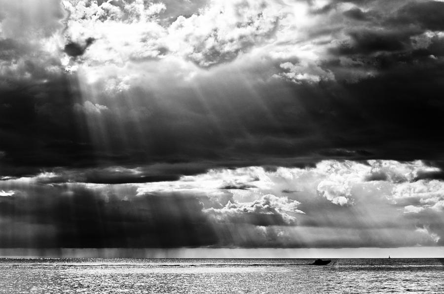 Rays Of Light Photograph by Mike Rivera