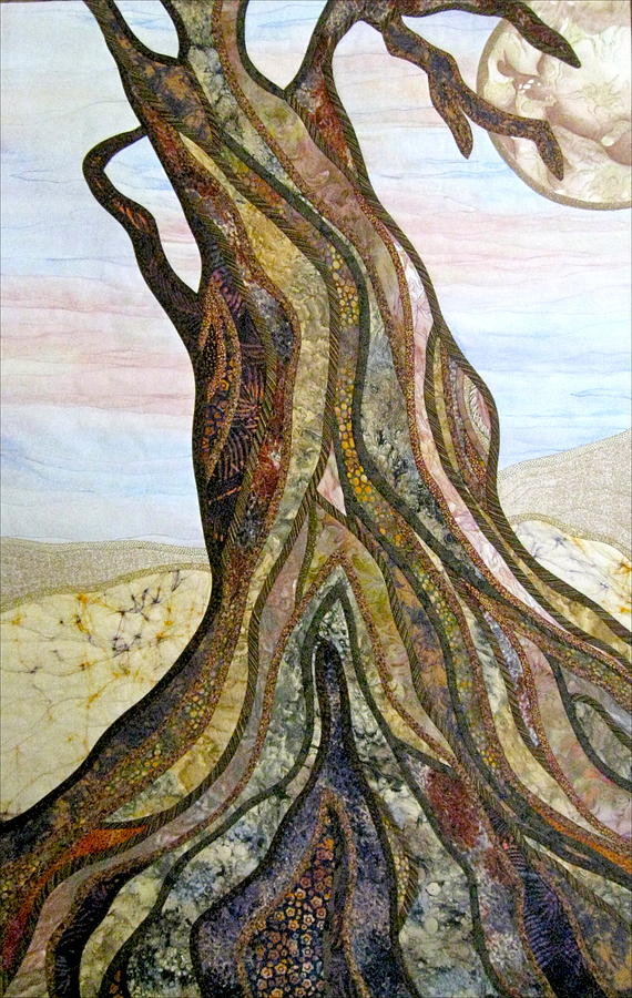 Landscape Tapestry - Textile - Reaching by Doria Goocher