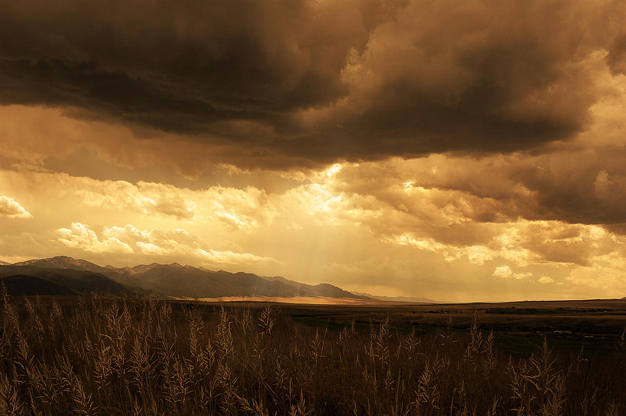 Landscape Photograph - Reaching The Rockies by Jeff Burgess