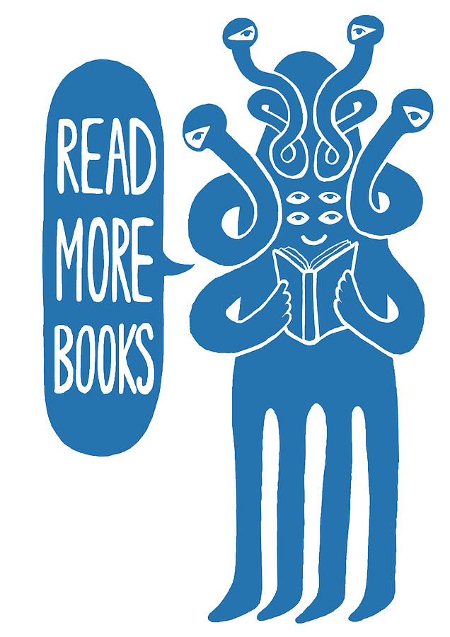 Read More Books Digital Art by Phil Morgan Illustration