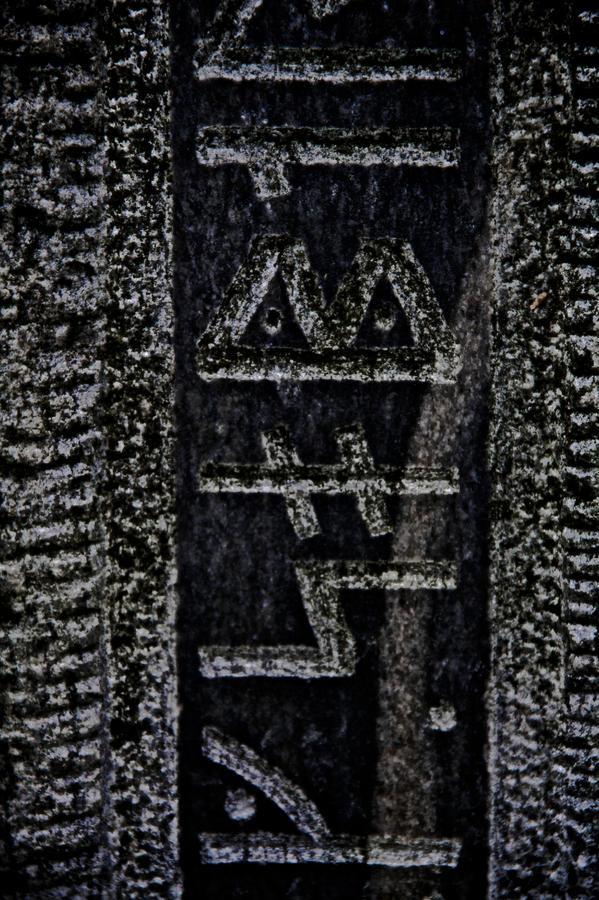 Stone Photograph - Reading Stones by Odd Jeppesen