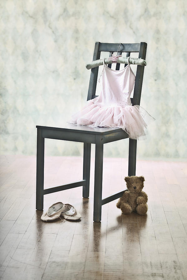 Tulle Photograph - Ready For Ballet Lessons by Joana Kruse
