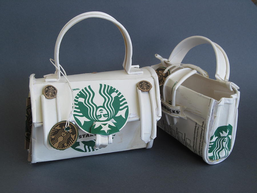 Starbucks Sculpture - Ready For Travel by Alfred Ng