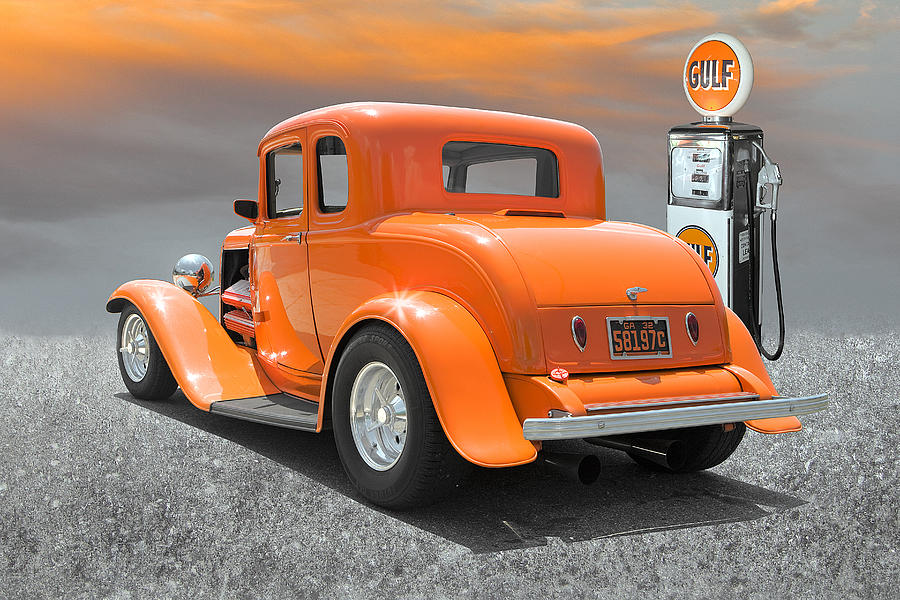 Hot Rod Photograph - Ready To Cruise by Stephen Warren