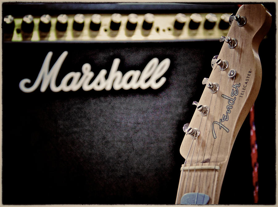 Marshall Photograph - Ready To Play by Odd Jeppesen