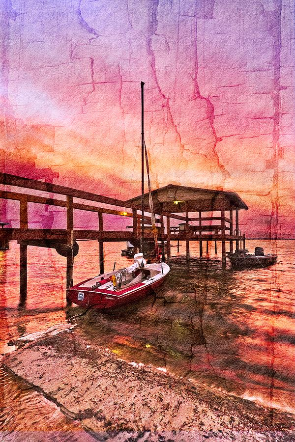 Boats Photograph - Ready To Sail by Debra and Dave Vanderlaan