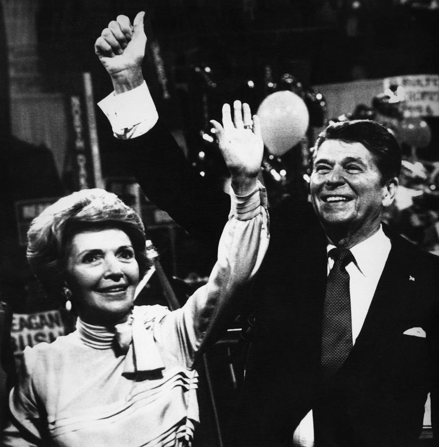 1980s Photograph - Reagan Presidency. Republican Party by Everett