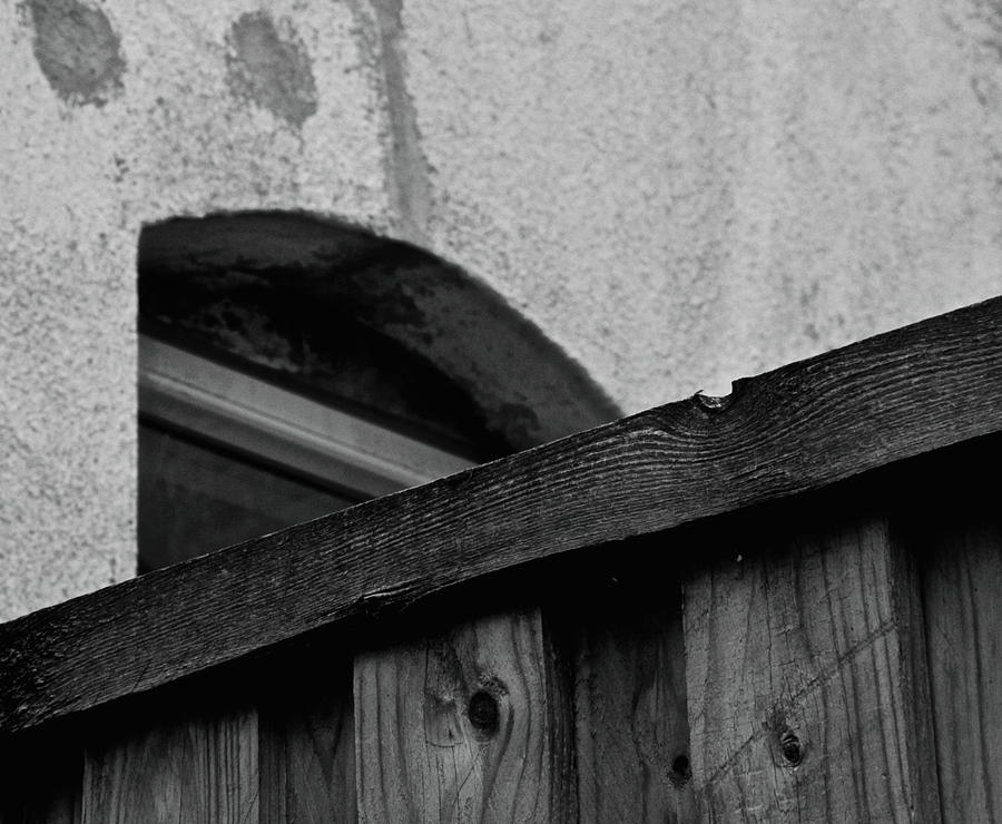Window Photograph - Rear Window by Odd Jeppesen