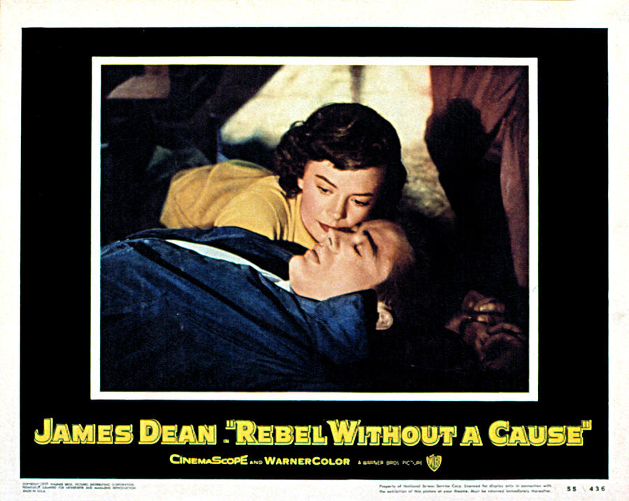 Dean Photograph - Rebel Without A Cause, Natalie Wood by Everett