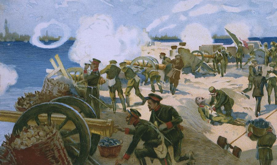 Late 19th Century Painting - Rebellion In Venice by Italian School
