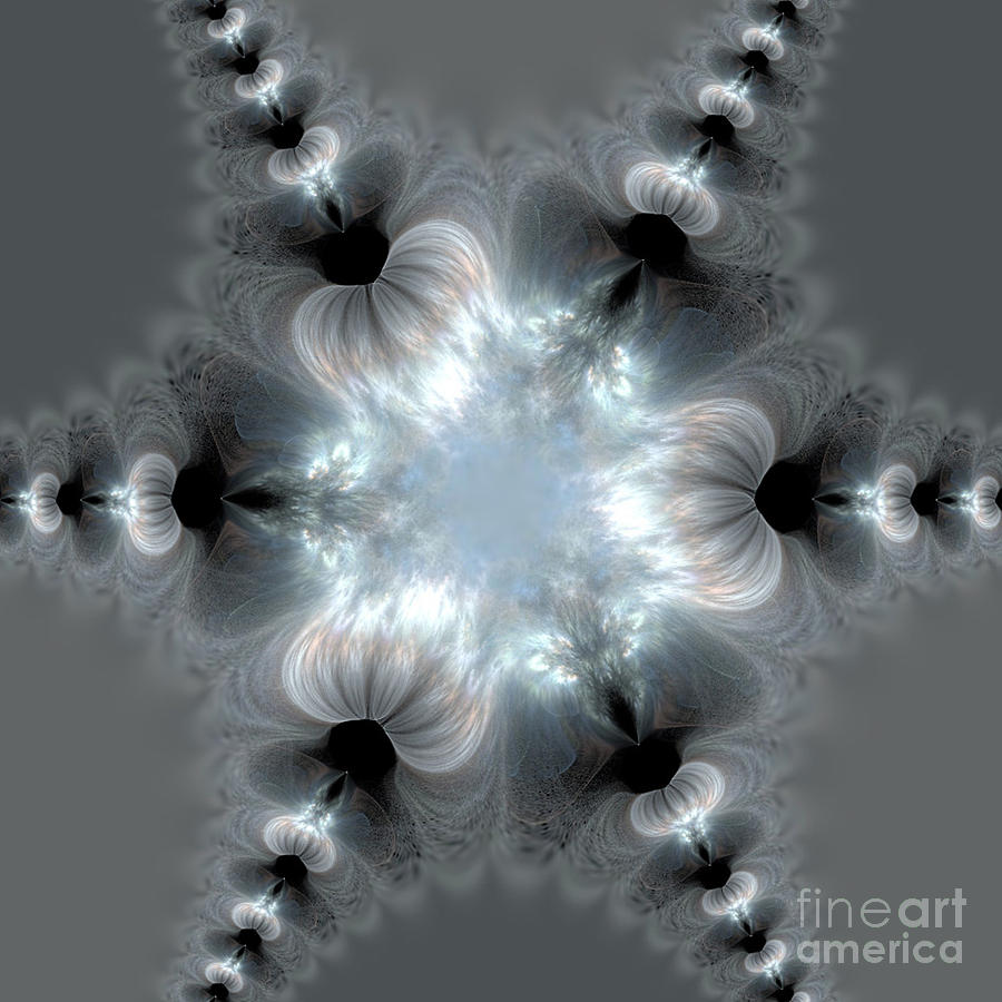 Fractal Digital Art - Recharge - The Beauty Of Simple Fractal by Vidka Art