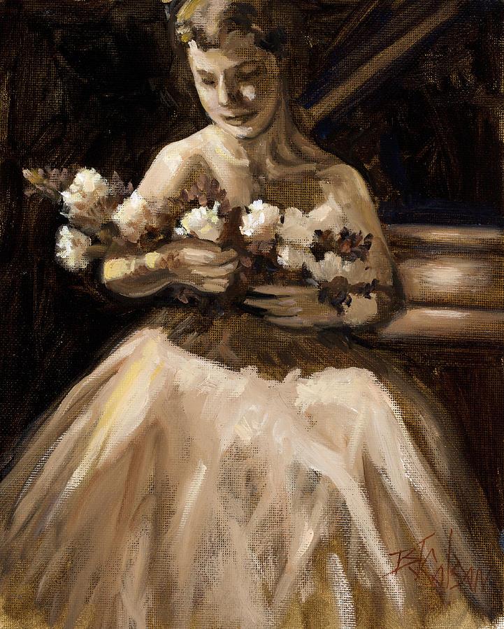 Piano Recital Painting - Recital by Billie Colson