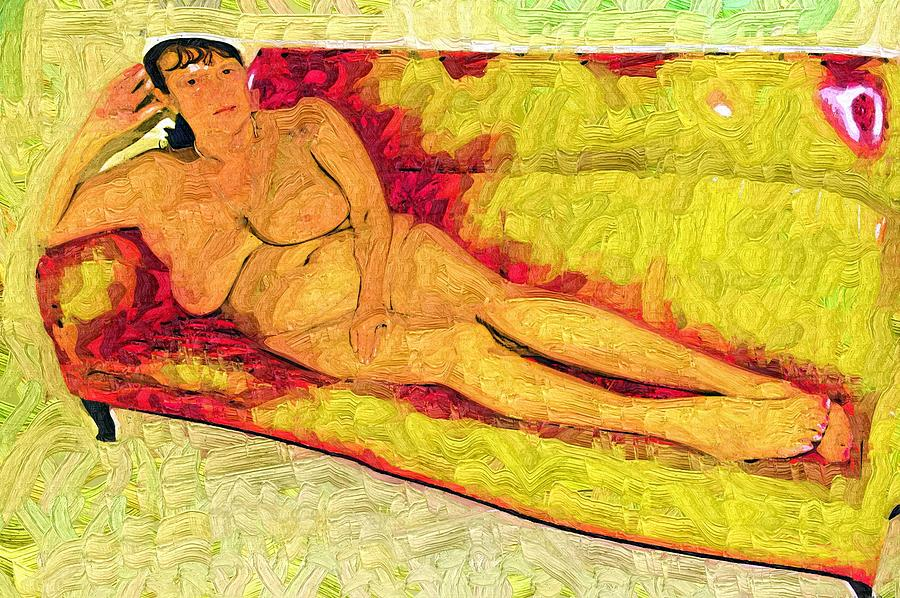 Reclining Nude Photograph by David Wilson