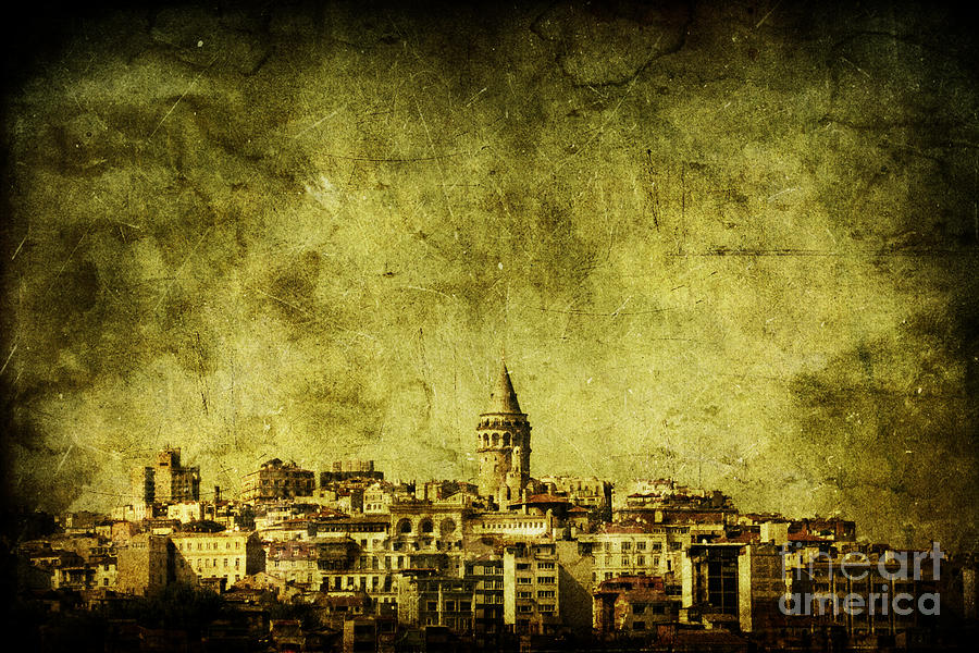Istanbul Photograph - Recollection by Andrew Paranavitana